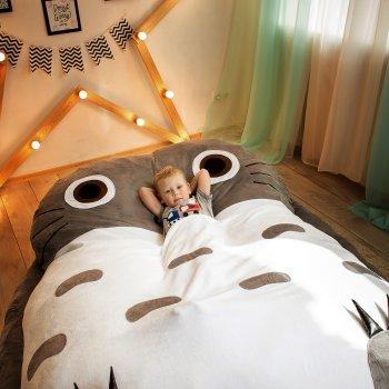 Дитяче безкаркасне ліжечко Lavibo Тоторо М 180х130 см