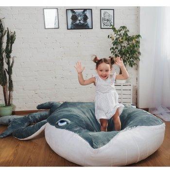 Дитяче безкаркасне ліжечко Lavibo Кит S 140х90 см