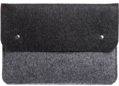 Чехол для ноутбука Gmakin для MacBook Air/Pro 13.3'' Black/Grey (GM05)