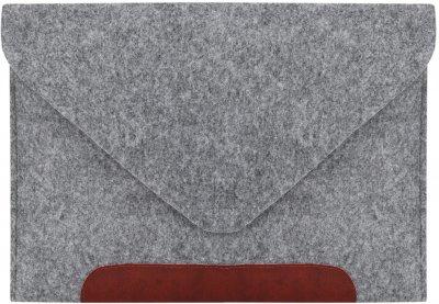 Чехол для ноутбука Gmakin для MacBook Air/Pro 13.3'' Grey/Brown (GM10)