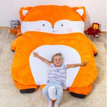 Дитяче безкаркасне ліжечко Lavibo Лисичка L 220х170 см