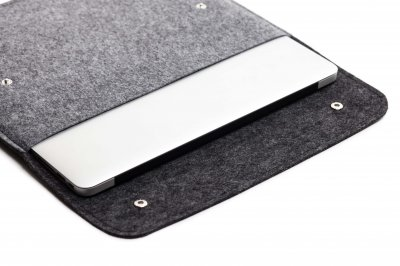 "Чохол для ноутбука Gmakin для MacBook Pro 13"" Black/Grey (GM05-13New)"