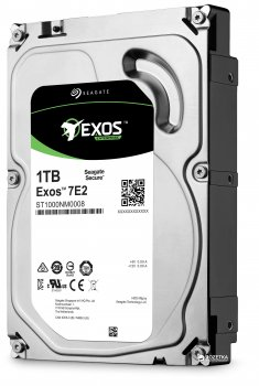 Жесткий диск Seagate Exos 7E2 512N 1ТB 7200rpm 128MB ST1000NM0008 3.5 SATA III