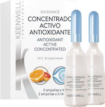 Оксидантная сыворотка для сияния кожи Keenwell Biological Concentrated для всех типов кожи 2 х 4 мл (8435002120418)