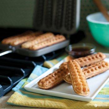 Сковорода двойная Nordic Ware двусторонняя для вафель 20x35x4 см (1975_nordic)