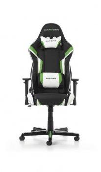 Крісло для геймерів DXRacer Racing OH/RZ288/NEW Black/Green/White