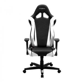 Крісло для геймерів DXRacer Racing OH/RE0/NW Black/White