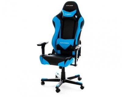 Крісло для геймерів DXRacer Racing OH/RE0/NB Black/Blue
