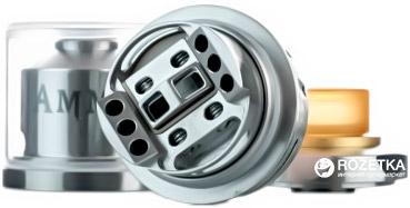 Атомайзер Geekvape Ammit Dual Coil RTA Silver (GKVAMDCS)