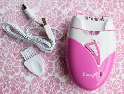 Електричний епілятор Shinon рожевий AdV