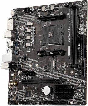 Материнская плата MSI A520M-A Pro (sAM4, AMD A520, PCI-Ex16)