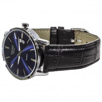Наручные часы SWIDU SWI-001 Blue влагозащищенный корпус 3АТМ кварцевый механизм нержавеющая сталь
