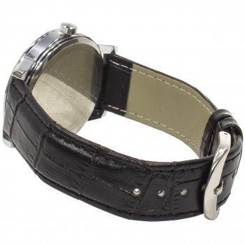 Мужские часы SWIDU SWI-001 Black с нержавеющей стали влагозащищенные 3АТМ механические кварцевый механизм