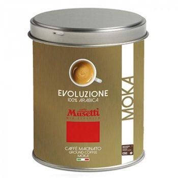 Кава мелена Musetti Evoluzione ж/б 250 г