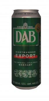 Упаковка пива DAB светлое фильтрованное 5% 0.5 л x 24 шт (4053400184012)