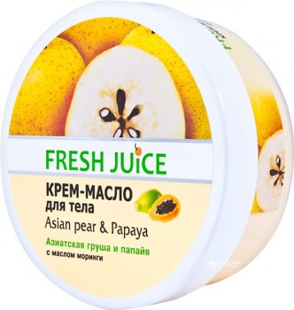 Крем-масло для тела Fresh Juice Asian Pear & Papaya 225 мл (4823015936395)