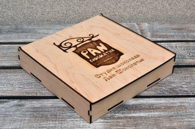 Коробка з фанери для солодощів. (А00806)
