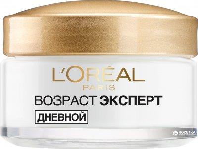 Антивозрастной крем-скульптор L'Oréal Paris Skin Expert Возраст эксперт дневной уход для всех типов кожи 50 г (3600523408900)