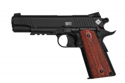 Пистолет пневматический CROSMAN C1911B Crosman Черный / Коричневый
