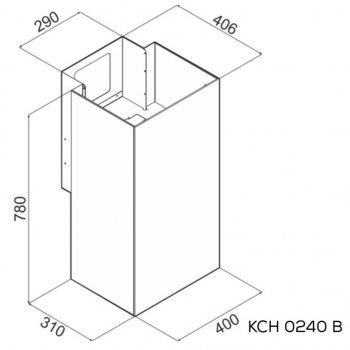 Витяжка кухонна Kernau KCH 0240 B