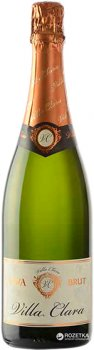 Вино игристое Villa Clara Cava Brut белое сухое 0.75 л 11.5% (8421414319038)