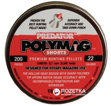 Свинцеві кулі JSB Polymag Shorts 1.03 г 200 шт. (14530564)