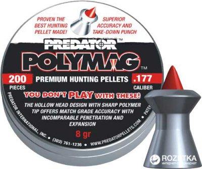 Свинцовые пули JSB Polymag 1.03 г 200 шт (14530532)