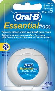 Зубная нить Oral-B Essential Мятная 50 м (3014260280772)