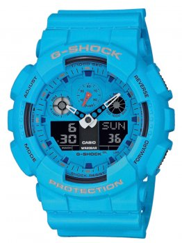 Годинник Casio GA-100RS-2AER G-Shock 51mm 20ATM