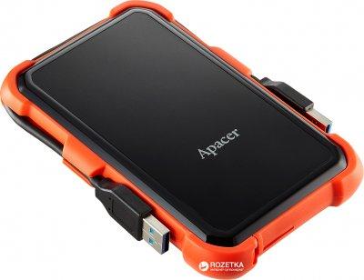 "Жорсткий диск Apacer AC630 2TB 5400rpm 8MB AP2TBAC630T-1 2.5"" USB 3.1 External Orange"