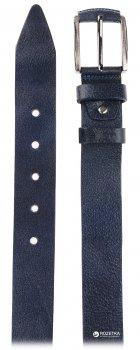 Мужской ремень кожаный Sergio Torri 3-0057 130 см Синий (2000000008530)