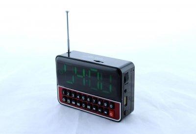 Радиоприёмник MP3 плеер часы с таймером и будильником WS-1513
