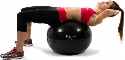 Гімнастичний м'яч ProSource Stability Exercise Ball 55 см Чорний (PS-2205-sfb-55)