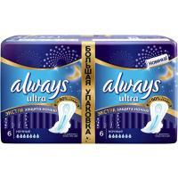 Гигиенические прокладки Always Ultra Night Deo 12 шт (4015400612377)