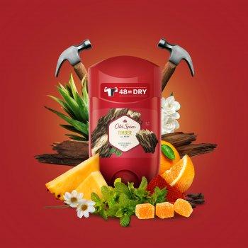 Твердый дезодорант-антиперспирант Old Spice Timber 50 мл (4084500940444)