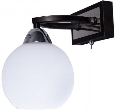 Бра Altalusse INL-9268W-01 Chrome & Dark wengue Е27 1x40 Вт