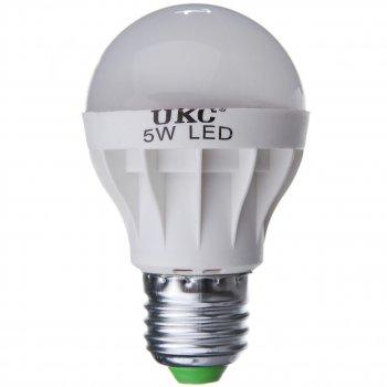 Лампочка LED LAMP E27 5W Круглые светодиодная UKC