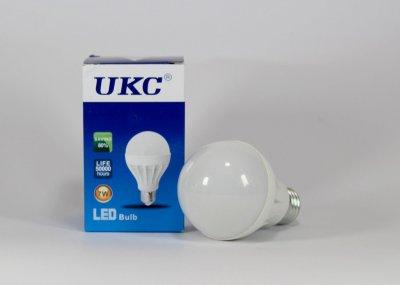 Лампочка LED LAMP E27 7W Круглые UKC