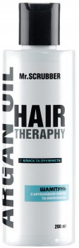 Шампунь для волос Mr.Scrubber Hair therapy Argan oil для укрепления 200 мл (4820200230689)