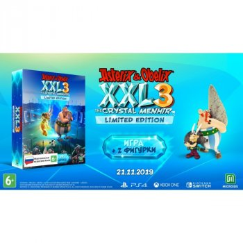 Asterix & Obelix XXL 3: The Crystal Menhir Limited Edition (русская версия) (Nintendo Switch)