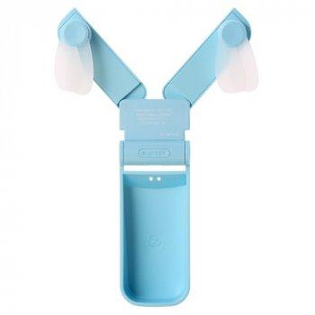 Ручной вентилятор 3 в 1 Remax RL-FN01 Светло-голубое небо 446649201