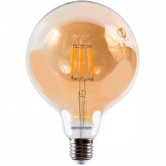 Лампа світлодіодна Светкомплект Vintage Fil Amber G125 6 Вт E27 2500 До 220 В
