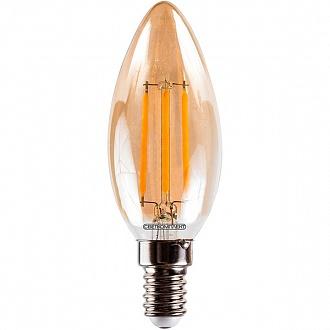 Лампа світлодіодна Светкомплект Vintage Fil Amber C35 4 Вт E14 2500 До 220 В