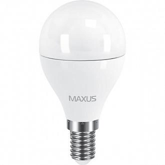 Лампа Maxus LED G45 F 6 Вт E14 4100 K холодний світ