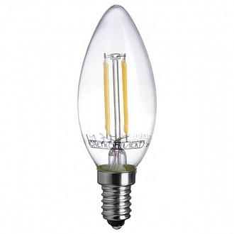 Лампа филаментная LED Светкомплект FLC35 Е14 4 Вт 4500K