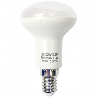 Лампа LED Светкомплект R50 7 Вт E14 холодний світ