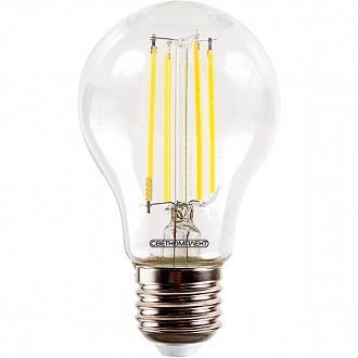 Лампа світлодіодна Светкомплект Vintage Fil A60 6 Вт E27 4500 До 220 В