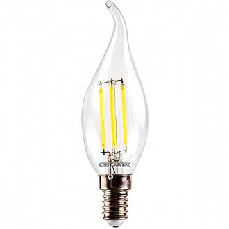 Лампа світлодіодна Светкомплект Vintage Fil CA35 4 Вт E14 4500 До 220 В