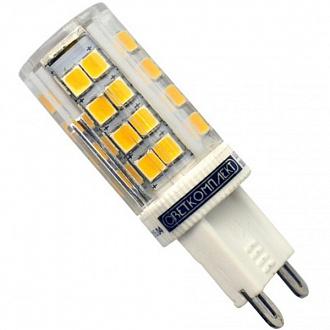 Лампа LED Светкомплект G9 5 Вт 220 В тепле світло
