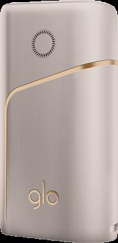 Набір для нагрівання тютюну Glo Pro Champagne (4820215621502/4820215623995)
